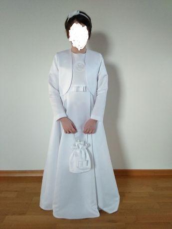 Sukienka komunijna + dodatki