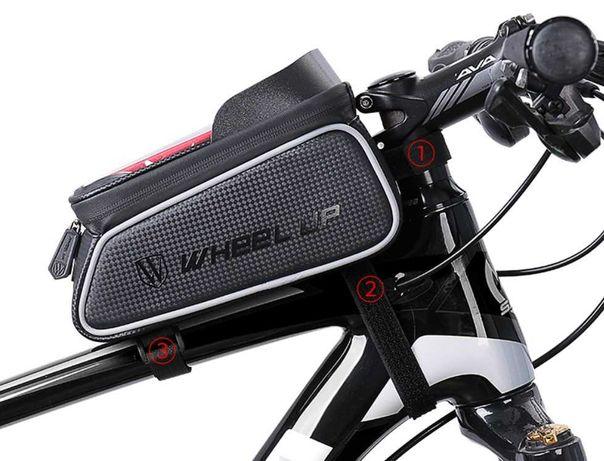 Велосумка для смартфона на раму, вело сумка для телефону WheelUp