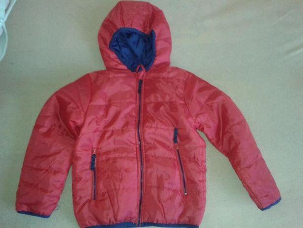 NOWA kurtka r.122 na jesień,piękny kolor,lekka,pikowana,ciepła,ideał