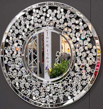 Lustro Diamond Svar 80cm Glamour Salon Gabinet