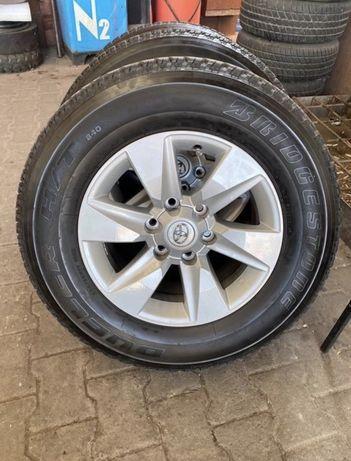 Колеса (шини та диски) Toyota Land Cruiser Prado