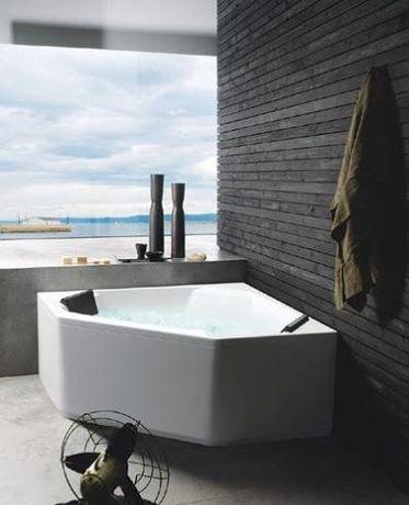 Акрилованная ванна Glass Eden 150x150 см