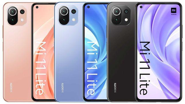 Xiaomi Mi11 Lite 6/128GB GSM+GSM Global Version все цвета!