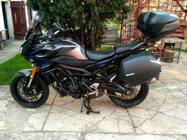 Yamaha MT09 Tracer , ABS, TCS, kufry, zadbany