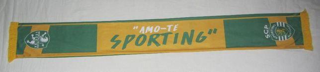 """Cachecol """"Amo-te Sporting"""" (VENDO/TROCO)"""