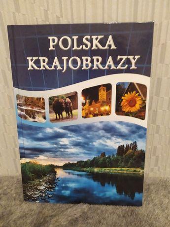 Polska krajobrazy - atlas