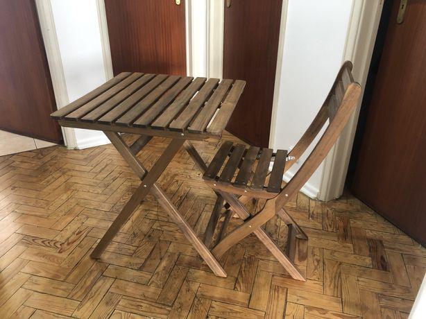 IKEA mesa e cadeiras de jardim