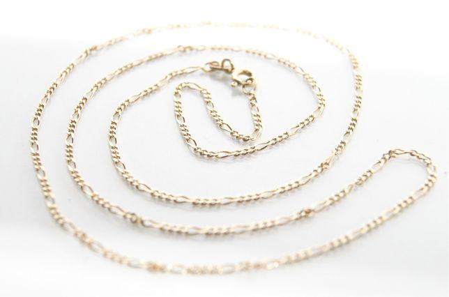 Złoty łańcuszek - splot figaro p.585