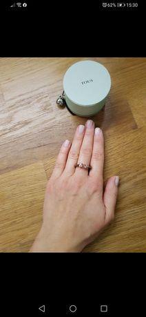 Pierścionek Tous różowe złoto rozmiar 16,1mm