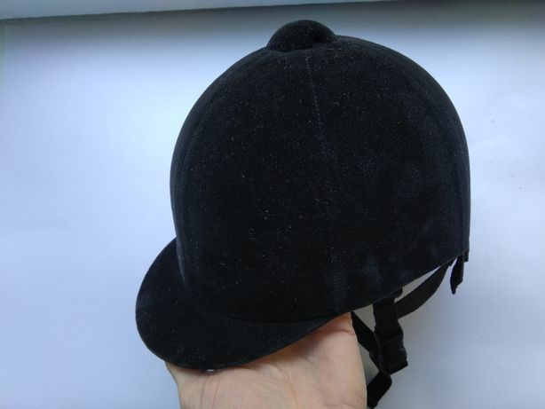 Шлем для верховой езды, конного спорта, жокейка Wembley, размер 56см.