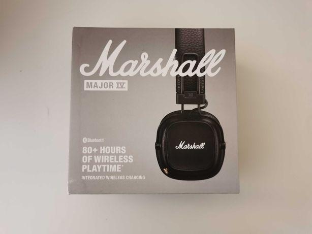 Słuchawki bezprzewodowe Marshall Major IV czarne nowe