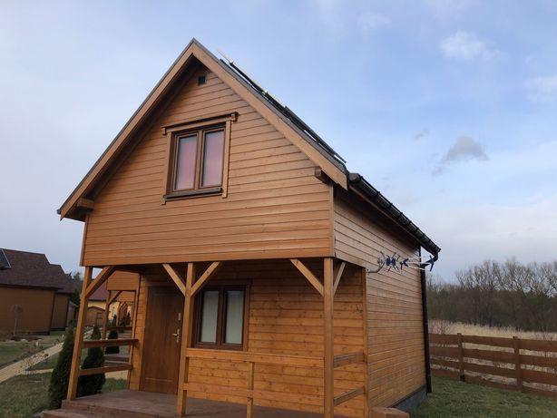 dom domek drewniany letniskowy całoroczny montaż cała PL