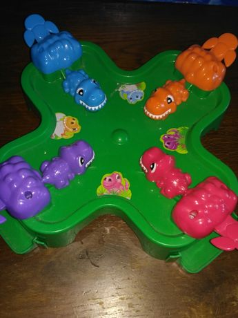 Шалені бегемоти гра crazy hippo