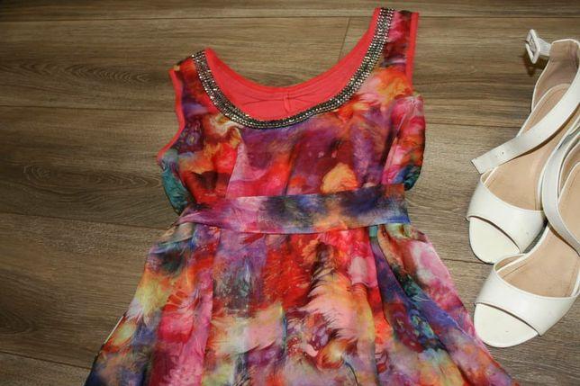 Плаття літнє з квітковим принтом