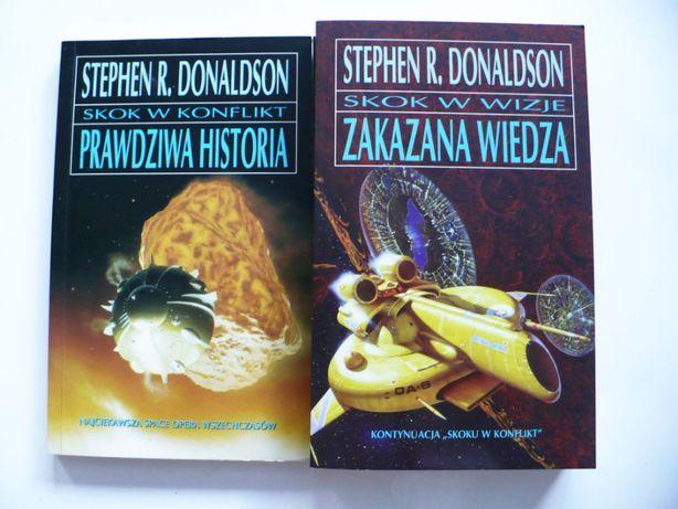 Donaldson II tomy Zakazana Wiedza, Prawdziwa Historia, stan idealny