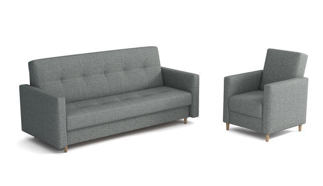 Wersalka Nadia + Fotel Skandynawski. Kanapa, sofa, łóżko. Producent!