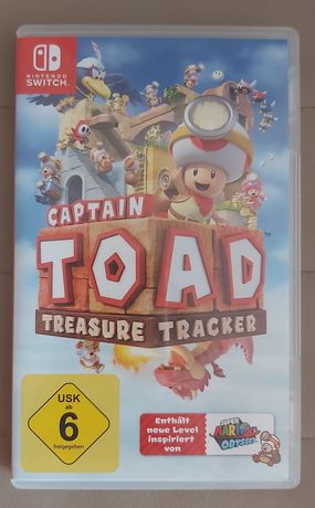 Gra Captain Toad na nintendo switch