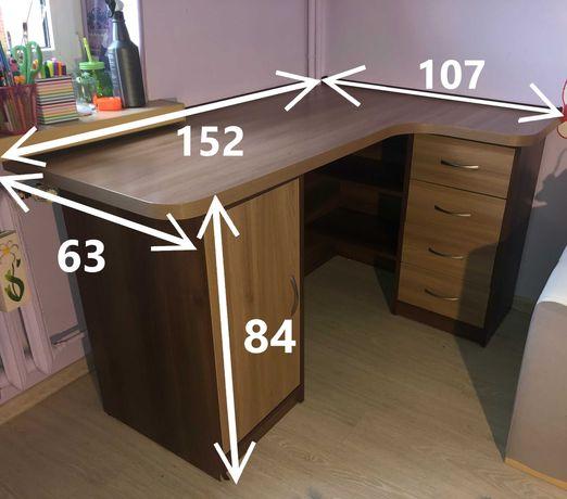 Biurko narożne w bardzo dobrym stanie