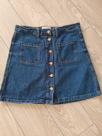 Jeansowa spódnica mini. NEW LOOK