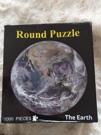Nowe puzzle Ziemia the Earth 1000 elementów