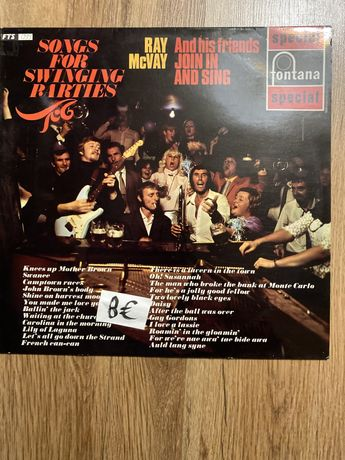 Vinil Ray McVai -Sonhs for swingin partys