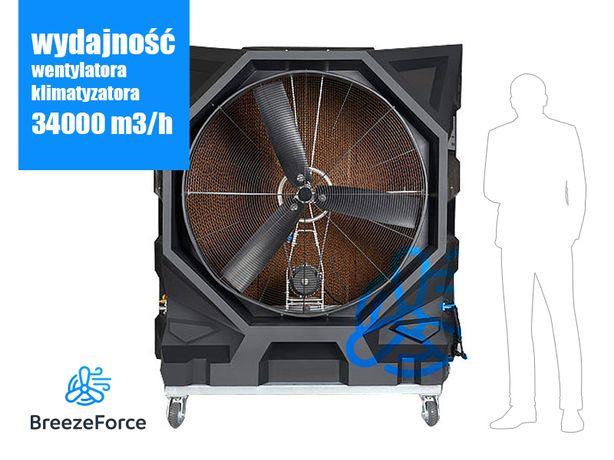 Przenośny przemysłowy klimatyzator ewaporacyjny Breeze Force BF