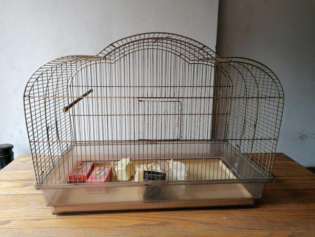 Duża klatka dla ptakow
