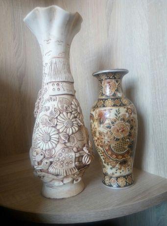 Ваза, вазочка, керамика, объемная лепка, узоры, для цветов, сувенир