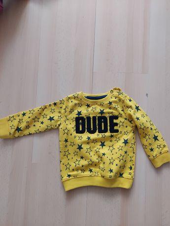 Bluzy chłopięce rozmiar 80
