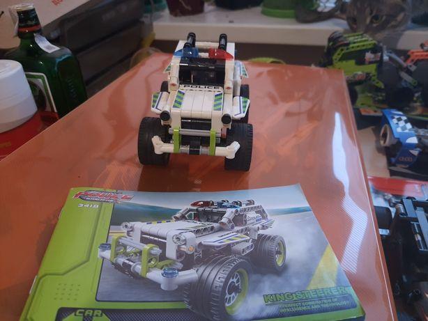 Lego Technic полицейский джип (аналог decool)