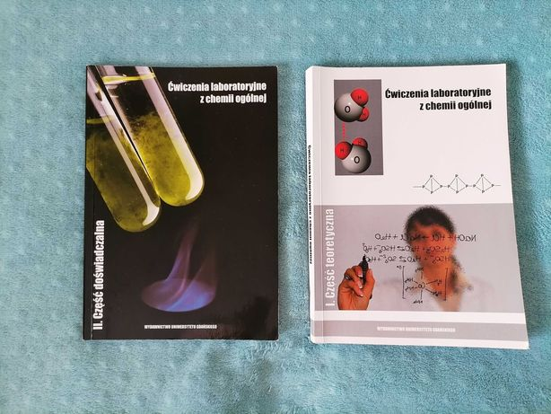 Sprzedam podręczniki(kierunek chemia UG)