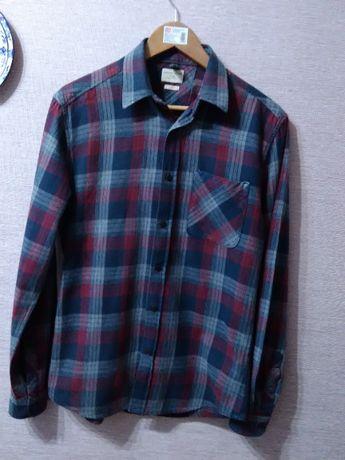 Рубашка для подростка Celected homme Индия размер S фланель