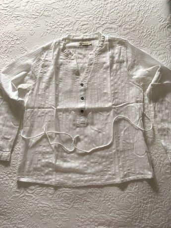 Camisa da branca da Deeply-L.