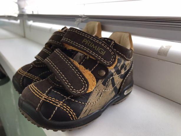 Детские ботинки, Primigi, Германия, кожа, размер 19