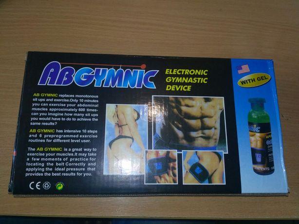 Abgymnic пояс тренажёр миостимулятор