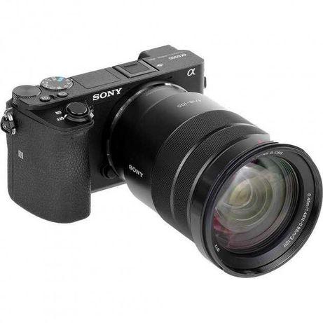 Беззеркальный фотоаппарат Sony A6500 + объектив Sony 18-105mm F4