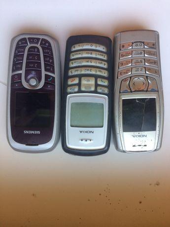 Телефони Nokia, Siemens, Sony Ericsson.