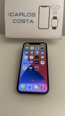 iPhone 12 128Gb - Usado Como Novo - Livre - Garantia - Azul / Branco