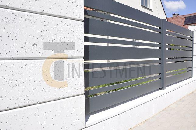 Bloczki betonowe ogrodzeniowe z betonu architektonicznego SLABB
