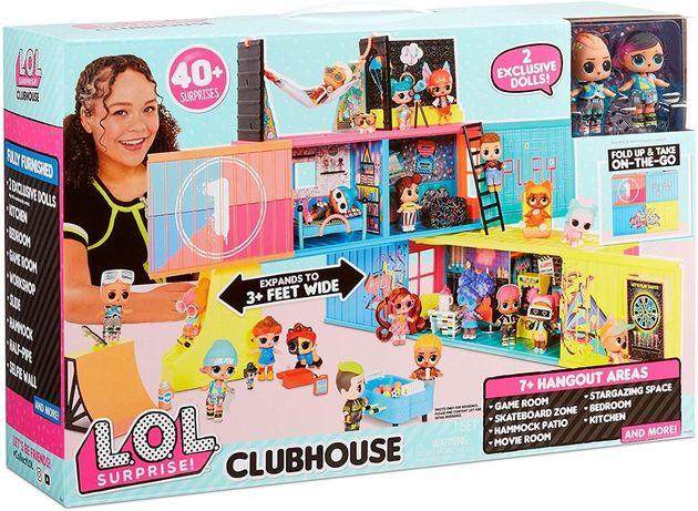 Клубный кукольный дом Лол Lol Surprise Clubhouse Playset with 40+ Surp