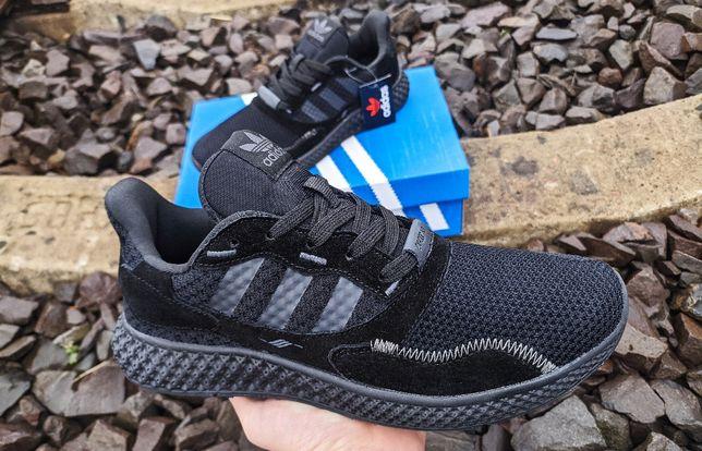 2021 Adidas Boost futurecraft 41-46 чёрные кроссовки мужские адидас