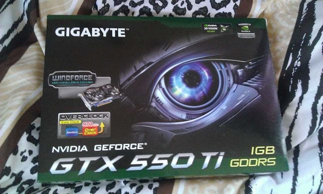Gigabyte GTX 550Ti OC 1GB WindForce 2X