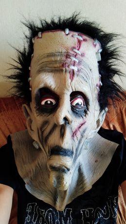 Резиновая маска Франкенштейна.Заводской Китай.
