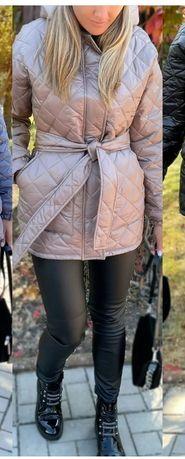 Продам курточку колір беж , 42-44 розмір