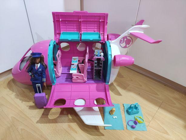 Mattel samolot Barbie+ lalka Barbie