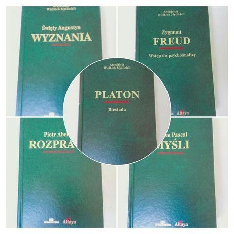 Arcydzieła Wielkich Myślicieli Wyznania Rozprawy Platon Freud GRATI