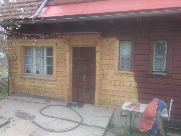 piaskowanie domów z drewna jelenia góra