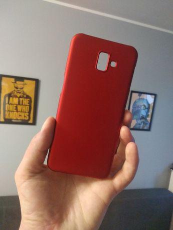 Etui Case do Samsung j6 plus 2018 czerwone