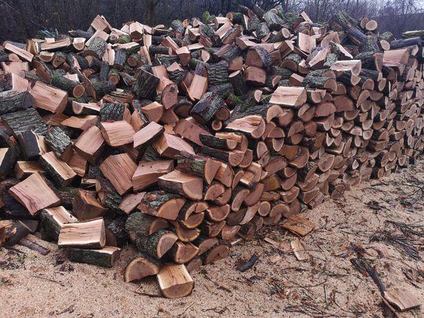 Drewno kominkowe opałowe układane cena za 1m dąb buk wiaz klon