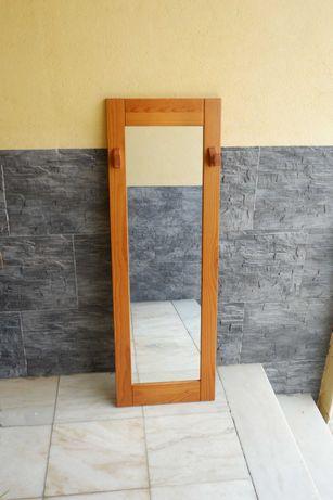 Espelho Madeira com cabide